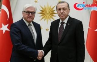 Cumhurbaşkanı Erdoğan, Almanya Cumhurbaşkanı...