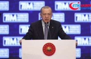 Cumhurbaşkanı Erdoğan: İhracattaki başarılarımız...