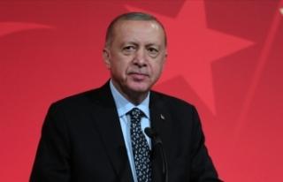 Cumhurbaşkanı Erdoğan'dan 26 Eylül Türk...