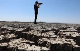 Devegeçidi Baraj Gölü kuraklık tehlikesi yaşıyor