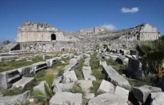 Didim'deki antik kent Miletos'ta 2 bin 400...