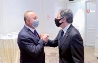 Dışişleri Bakanı Çavuşoğlu, ABD Dışişleri...