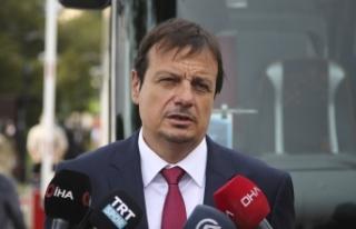 """Ergin Ataman: """"Türk Milli Takımı'nın başında..."""