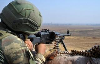 Irak'ın kuzeyindeki Metina'da 2 PKK'lı...