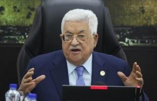 Filistin Devlet Başkanı Abbas: İsrail'e, işgaline...