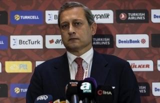 Galatasaray Başkanı Elmas: Milli takıma Fatih Terim'in...