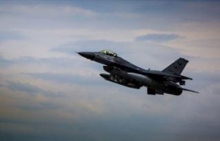 Irak'ın kuzeyine düzenlenen hava harekatıyla...