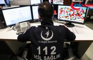 İstanbul'da 112'ye gelen çağrıların...