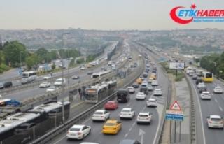 İstanbul'daki araç sayısı açıklandı! Toplam...
