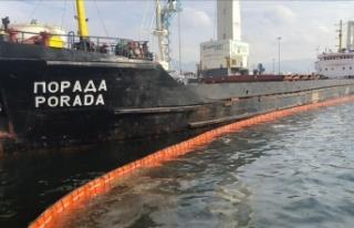 İzmit Körfezi'ni kirleten gemiye 1,2 milyon...