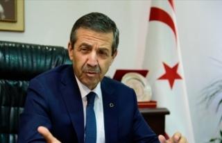 KKTC Dışişleri Bakanı Ertuğruloğlu, İngiltere'den...