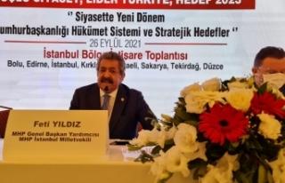 MHP'li Yıldız: Tarihi yürüyüşü sürdüreceğiz,...