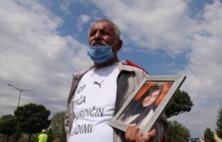 PKK'nın kaçırdığı kızını geri isteyen baba,...