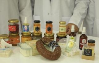 Propolisten üretilen gıda ve kozmetik ürünleri...