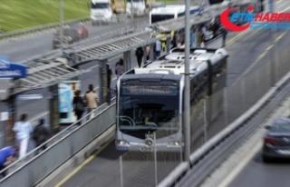 Salgın korkusu İstanbul'da toplu taşıma kullanımını...