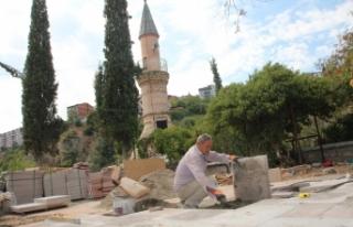 Şeyh Edebali Türbesinde 2 aylık restorasyon çalışması...