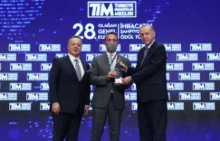 TİM İhracatın Şampiyonları Ödül Töreni