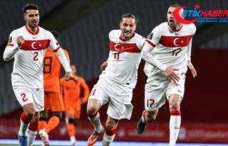 A Milli Futbol Takımı Stefan Kuntz ile ilk maçında...