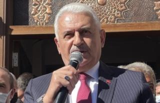 AK Parti Genel Başkanvekili Yıldırım: Bizim milletimiz...
