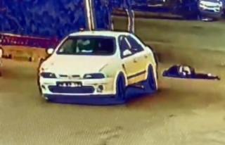 Aydın'daki feci olayın güvenlik kamera görüntüleri...