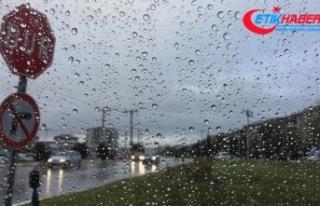 Marmara'nın batısında bugün kuvvetli yağış...