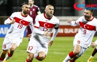 Türkiye 2022 FIFA Dünya Kupası'na katılma...