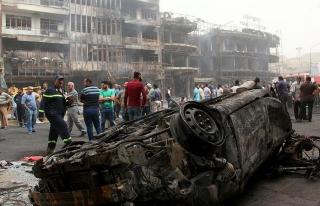 Bağdat'taki intihar saldırısında ölenlerin sayısı...