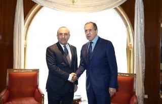 Rus Dışişleri'nden Lavrov-Çavuşoğlu görüşmesi...