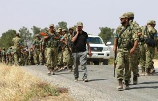 Özgür Suriye Ordusu Keklice köyüne ulaşmak üzere