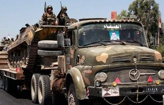 Suriyeli muhalifler: Şam'da yönetime ait bir helikopteri...