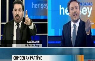 Canlı yayında Mirgün Cabas, Savcı Sayan kavgası!