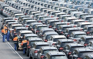 Trafiğe kayıtlı taşıt sayısı 20 milyon 456...