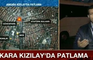 CNN Türk muhabirinden canlı yayında acı sözler:...