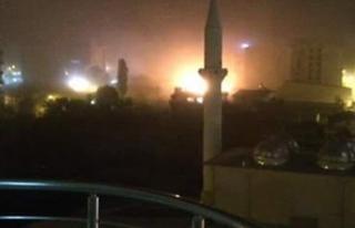 Van'da polis merkezine saldırı