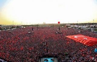 Milyonlar Yenikapı'da buluşuyor