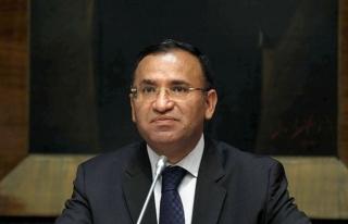 Adalet Bakanı Bozdağ: Şekilcilikten bu işi çıkarmamız...