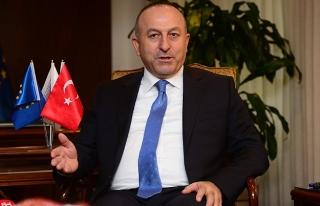 Bakan Çavuşoğlu: 'YPG Rakka'nın içine girmeyecek'...