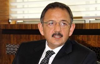 Bakan Özhaseki: Teröristlerin yıktığı masum...
