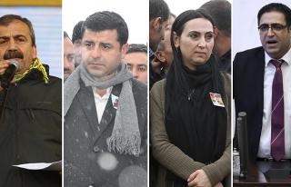 İfade vermeye gitmeyen HDP'lilere operasyon
