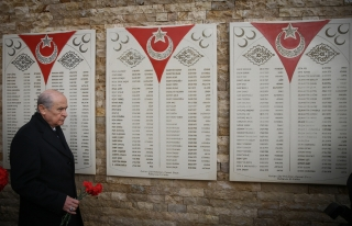 MHP Lideri Bahçeli, Ülkücü Şehitler Anıtı'nı...