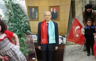 Türkmen balası Elif, Türkmen Beyi Bahçeli sayesinde...