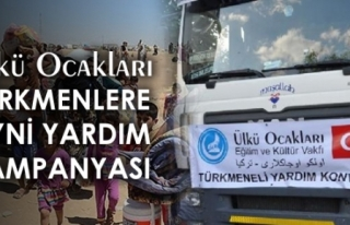 Ülkü Ocakları'ndan Türkmenlere Yardım Kampanyası