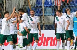 Süper Lig'de ilk üç puan Bursaspor'un