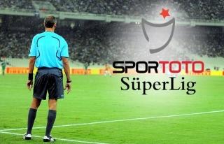Süper Lig'de 23. hafta maçlarını yönetecek hakemler...