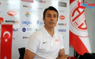 Antalyaspor Teknik Direktörü Korkmaz: Hiç kimsenin beklentisi yüksek olmasın