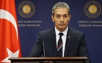 """Dışişleri Bakanlığı Sözcüsü Aksoy'dan AB'ye: """"Hayal kırıklığı duyuyoruz"""""""