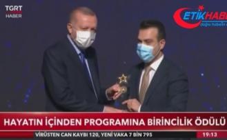 TGRT Haber'e 'Trafik Medya' ödülü