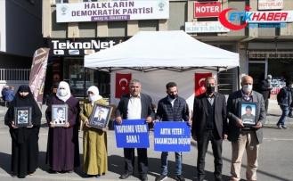 Muş'ta çocukları için HDP önünde eylem yapan aile sayısı 13'e yükseldi