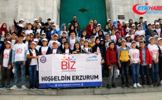 'Biz Anadoluyuz Projesi' kapsamında 110 öğrenci Bursa'yı gezdi