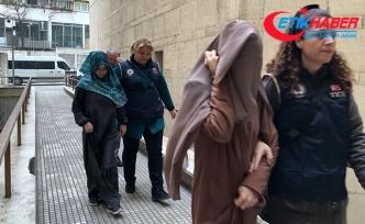 DEAŞ'lı 2 kadın terörist adliyede